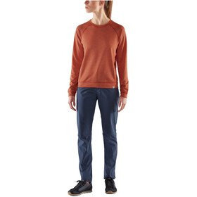 Fjällräven High Coast Lite Sweater Women rowan red